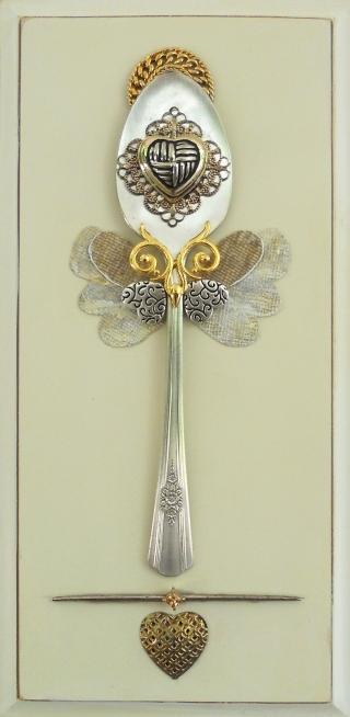 Diane's angel spoon (sold)