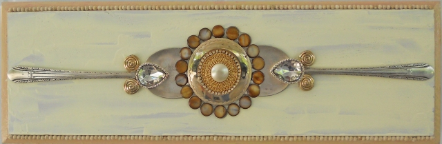 horizontal with beads