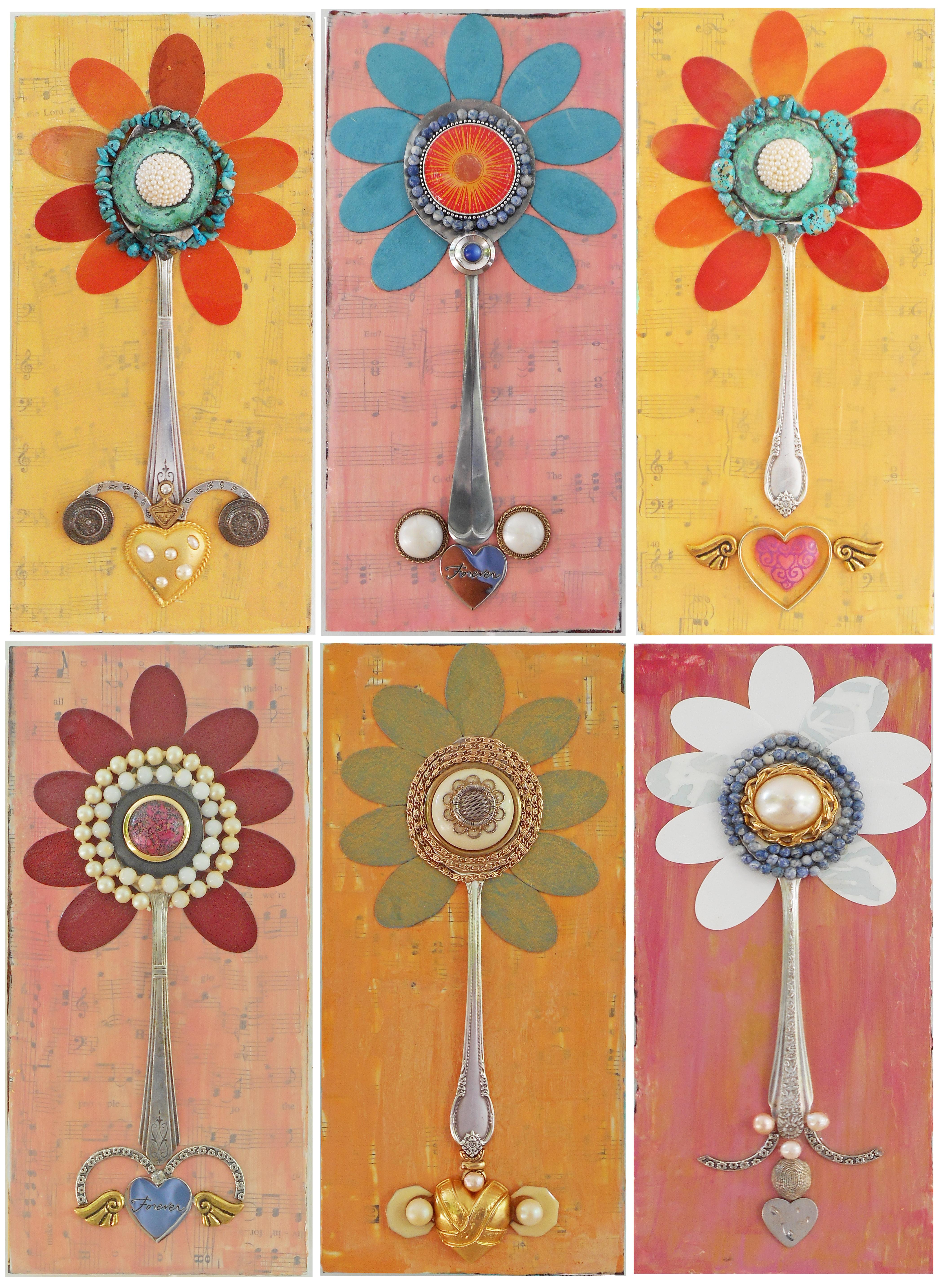 Colorful Spoons: Happy Colorful Designs « Fancy Flatware
