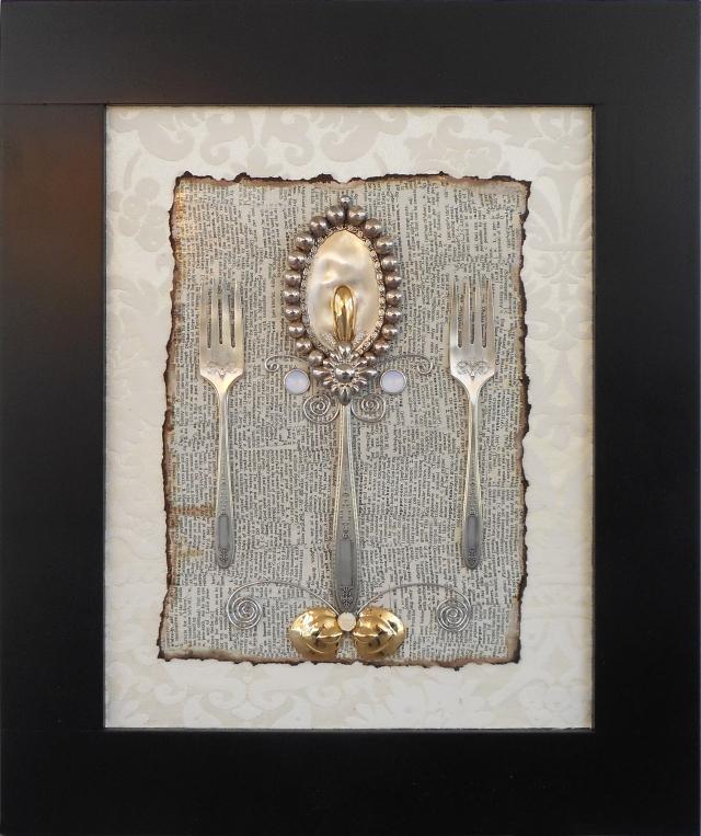damask silver